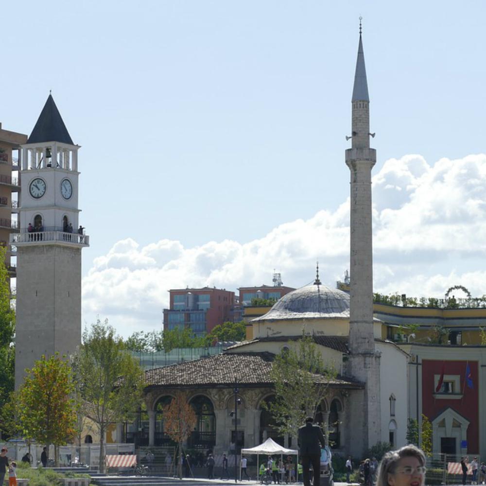 Moskee in Albanië