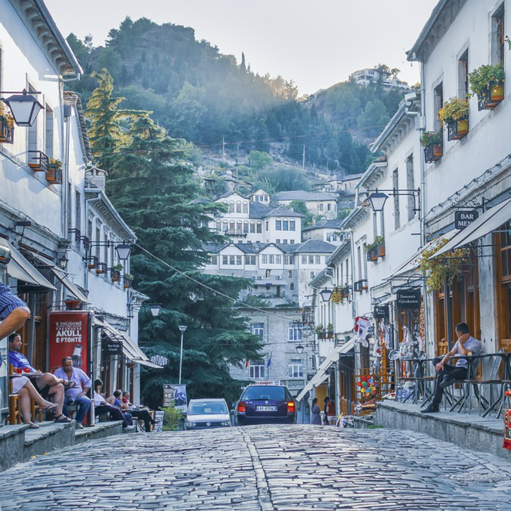 Albanees stadje