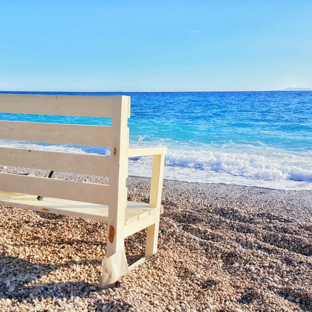 Strand van Albanië